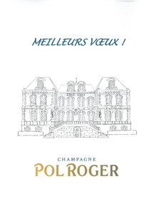 Best wishes for 2014 Champagne Pol Roger