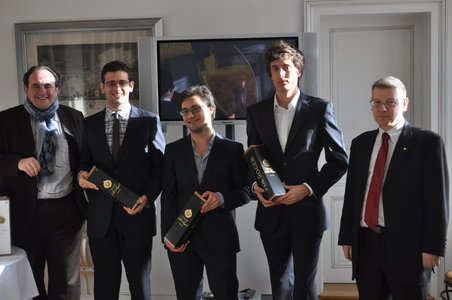 POL ROGER blind tasting match - 17th January 2014 Champagne Pol Roger