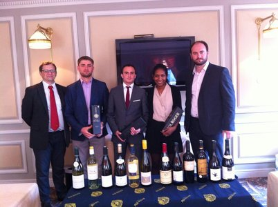 POL ROGER blind tasting match - 13th March 2014 Champagne Pol Roger